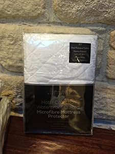 The Better Sleep Company Brand Waterproof Quilted Microfibre Mattress Protectors Small Double / 4FT- Hotel Quality Anti Dustmite, Waterproof, Absorbent, Breathable & Fully Fitted Extra Comfort