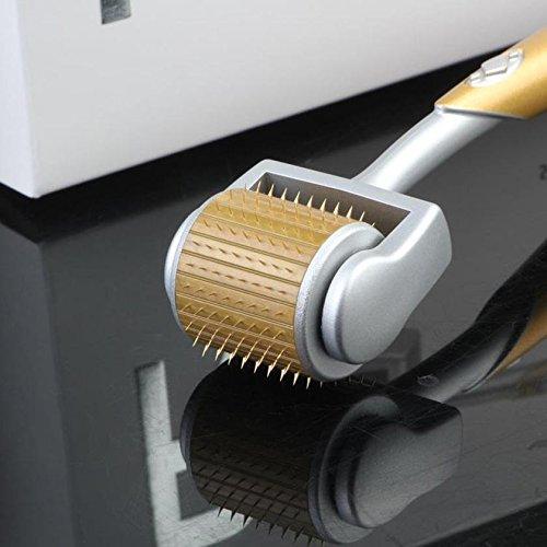Derma Roller -540 Micro Needle Roller Einsatz auf Falten, Stretch Marks, Akne, Haarausfall, Narbenentfernung, Pitted Skin und Hyper-Pigmentierung, stitches long 2.5 mm