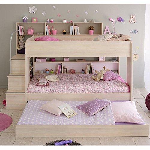 cravog etagenbett stockbett hochbett 3 x liegefl chen kinderzimmer 90x200 cm neu. Black Bedroom Furniture Sets. Home Design Ideas