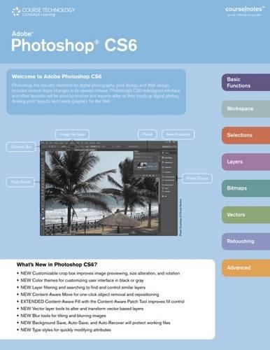 Adobe Photoshop Cs6 Coursenotes (Coursenotes Quick Reference Guide)