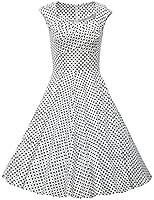 Dresstells, Vintage 1950's Audrey Hepburn robe de soirée cocktail, bal style années 50, Rockabilly, Swing