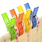 Windproof Beach Towel Clip Sun Lounger, Sunbed Peg, Sunbed,Pool,Cruiseship 4pcs