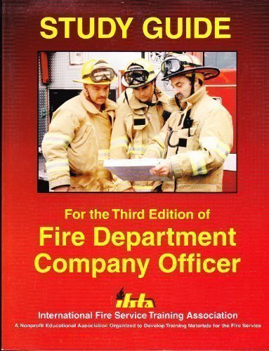 Fire Department Company Officer: Study Guide by John Joerschke (1999-05-30)