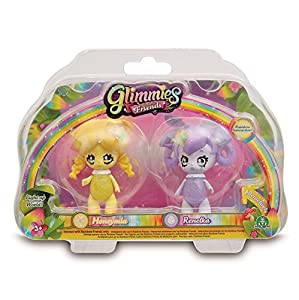 Glimmies - Serie 2 Blister 2 Figuras Honeymia + Renelka (Giochi Preziosi GLN01000)