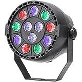 TSSS DMX Par Licht Mischfarbe LED RGBW Ton Aktivieren Disco Licht Beleuchtung für Parteierscheinen KTV DJ Hochzeit Lichter (1 Stück)