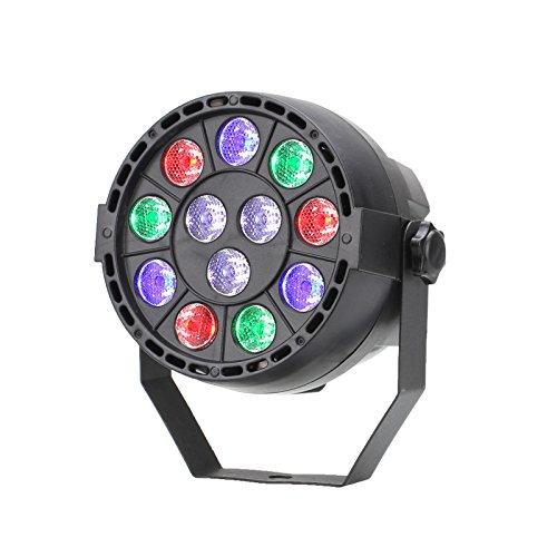 TSSS DMX Par Licht Mischfarbe LED RGBW Ton Aktivieren Disco Licht Beleuchtung für Parteierscheinen KTV DJ Hochzeit Lichter (1 Stück) Led-par Dj