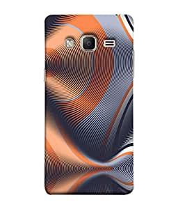PrintVisa Designer Back Case Cover for Samsung Galaxy Z3 Tizen :: Samsung Z3 Corporate Edition (Pink Black Mermaid Ocean Sea)