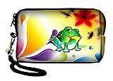 Funda resistente al agua para cámara de fotos cámara digital compacta para Panasonic Lumix Series, Nikon Coolpix Series, Olympus VR Series, Olympus IR Series, Olympus FE Series, Olympus mju Series, Olympus X Series, Canon Ixus Series, Canon Powershot Series, Casio Exilim Series