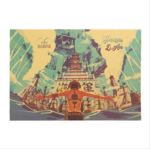 hzcl Wall Sticker EIN Assack-Plakat-Cartoon-Comics Pic Paper Cafe Bar Dekorative Malerei Wall Sticker