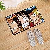 Lee My Teppiche 3D Anime One Piece Creative Wohnzimmer Teppich Rechteckige Manga Art Kristall Samt Boutique Bodenmatte Schlafzimmer 3 Farbe Optional Teppich,a,55.1'x78.7'/4.5'x6.5'