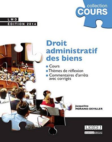 Droit administratif des biens, 8me Ed.