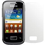 dipos Samsung Galaxy Pocket Plus Schutzfolie (2 Stück) - Antireflex Premium Folie matt