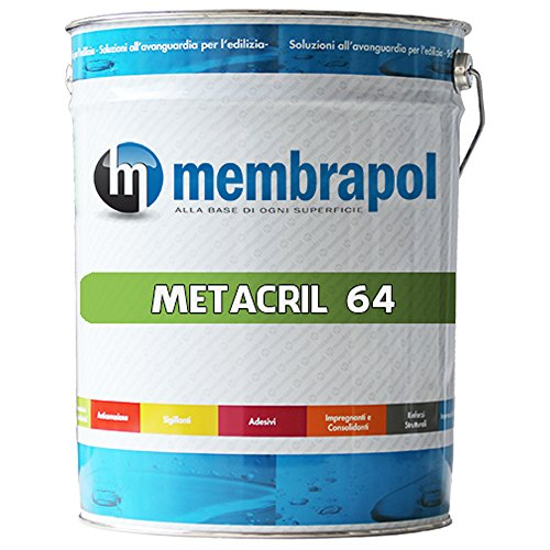 Membrapol METACRIL/64 Resina per Pavimenti Stampati, Trasparente, 5 Litri