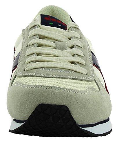 Diadora K-Run Ii, Sneaker Bas du Cou Homme, Dark Blue/Ferrari Red Beige