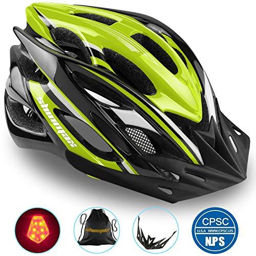 Casco Bicicleta/Casco Bicic con Luz LED