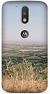 View Printed Back Cover Case For Motorola Moto G4