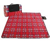 GUJJ Tenda stuoia umida, ispessimento esterno, picnic cuscino di stoffa, spiaggia di mat, doppia ripiegatura tappetino,i - 2 * 2m