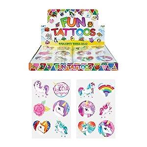 84 x Tatuajes Temporales Unicornios