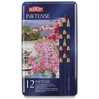 Art Alternatives Derwent Inktense Pencils 12/Pkg-
