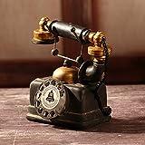SQBJ Un único envío gratis Home Furnishing resina artesanía antigüedades trompeta antigua cámara fotográfica del ventilador props American Country,Teléfono