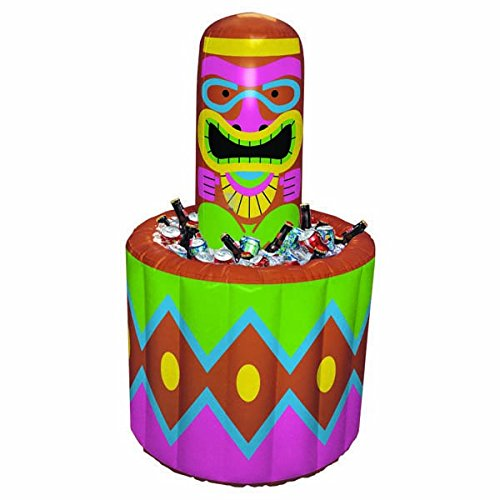 -Party-Dekoration Tiki aufblasbarer Kühleimer 6' mehrfarbig ()