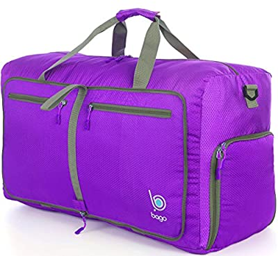 Bago Duffle Bag For Travel Luggage Gym Sport Camping - Lightweight Foldable Into Itself Duffel - cheap UK light store.