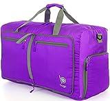 Reisetasche-diese faltbare, große Reisetasche ist beständig,packbar,SUPERLEICHTE 410g mit abnehmbarem Schulterriemen