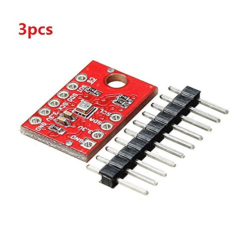 ILS - 3 pieces CJMCU-BME280 Embedded High Precision Atmospheric Pressure Altitude Sensor Module For Arduino