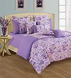 Swayam Printed Cotton Single Bedsheet wi...
