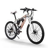 Richbit Vélo électrique 250W Moteur haute performance batterie lithium-ion Aluminium Cadre de montagne de vélo Cross Country pour Unisexe