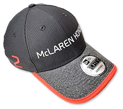McLaren Honda F1 Team Stoffel Vandoorne No. 2 Gorra Gris