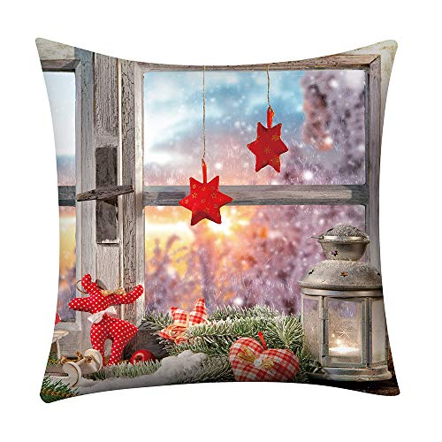 Fossrn Navidad Fundas Cojines 45x45