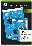 HP 1CC21AE Confezione per Ufficio, Multi-Pack XL, Giallo/Magenta/Ciano
