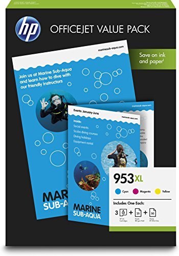 HP 1CC21AE - HP 953XL Office Value Pack-75 + papel multifunción sht/A4/210 x 297 mm