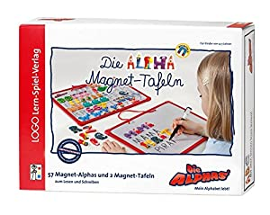 Die Alpha-Magnet-Tafeln zum ersten Schreiben: Mit allen Sinnen Lesen lernen für alle Kinder von 4 - 7 Jahren