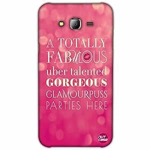 Designer Samsung Galaxy J7 Case Cover Nutcase-Glamourpuss Parties Here