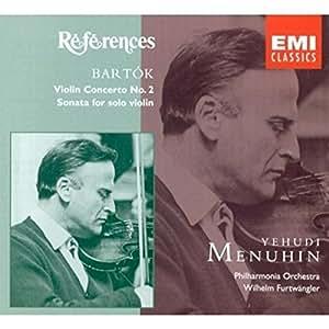 Béla Bartók: Violinkonzert Nr. 2 / Sonate für Violine solo