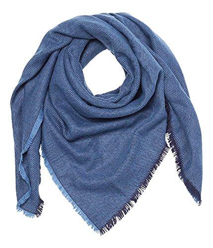 Esprit 017ea1q004, Echarpe Femme Bleu (blue 430)
