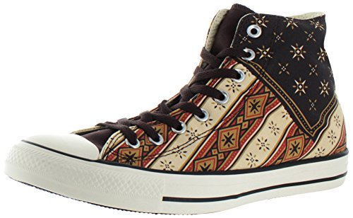 Converse CT All Star Hi Burnt Umber Fire Multi Womens Trainers - Multicolore