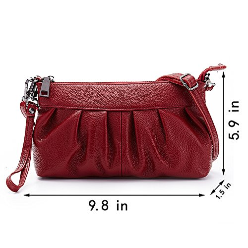 Anne, Borsa a spalla donna nero Red Wine Red Wine