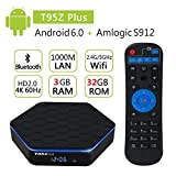 EVANPO T95Z plus TV Box Amlogic Octa-core 3G DDR3 RAM 32G eMMC ROM Android 6.0 Support 1080P 4K Resolution Smart TV Box Mnis PC Player