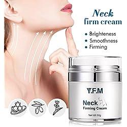 Y.F.M. Crema para el Cuello y Escote Tratamiento Reafirmante Cuello y Pecho Crema Antiarrugas para el Cuello Crema Antiedad Hidratante y Nutritiva para el Cuello y Pecho 50g
