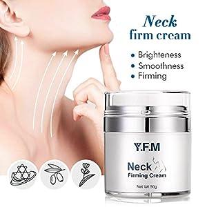 Y.F.M. Crema para el Cuello y Escote Tratamiento Reafirmante Cuello y Pecho Crema Antiarrugas para el Cuello Crema…