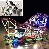 DUS Licht Set Led Beleuchtungsset für Lego 10261 Creator Achterbahn, Ohne Lego Set