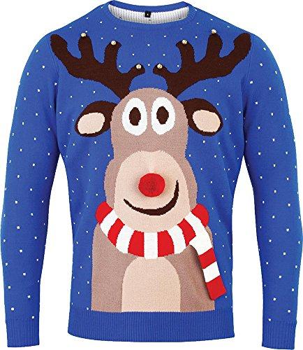 Nuove signore di Natale 3D Fancy party maglioni Warm &