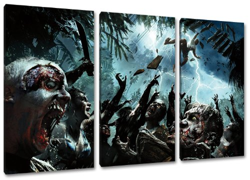 auf Leinwand- Gesamtformat: 120x80 cm fertig gerahmte Kunstdruckbilder als Wandbild - Billiger als Ölbild oder Gemälde - KEIN Poster oder Plakat ()