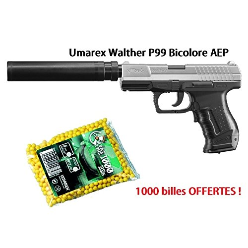 Produktbild UMAREX - Walther - P99 Xtra Kit - 0.5J - AEP
