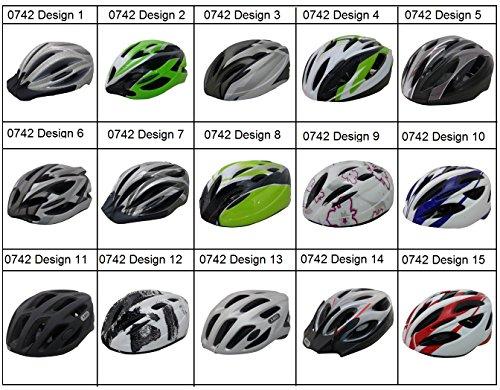 Prophete Verstellbar Erwachsene Bike Schutzhelm Rad Skate Fahrrad Skateboard Schutzausrüstung 0742 Design 13