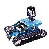 H0_V Professionelles Kit für Arduino UNO - Panzer Smart Robotic Kit - WiFi Wireless Video Programmierung Elektronisches Spielzeug DIY Roboter Kit Kompatibel RPI 3B/3B +(Ohne Raspberry Pi)
