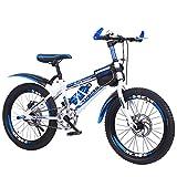 Kinderfahrräder schüler ältere Kinder 8-14 Jahre alt scheibenbremsen drehzahlgeregelten Mountainbike-Einzelgeschwindigkeit 22inch